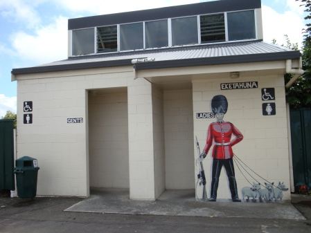 Eketahuna's public dunnies - would you let them be managed by Michael Cullen?