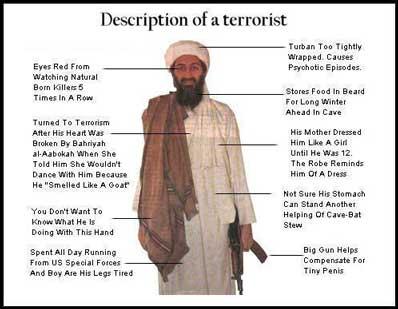 0 a terrorist