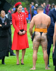 """And what do you wear, sir, when you are not welcoming members of the Royal Family?"""