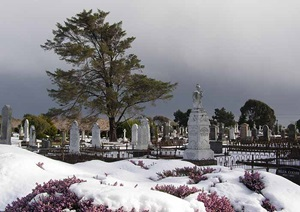 No, not Siberia ... it's Invercargill's Eastern  Cemetery where Stewart Islanders prematurely finish up.