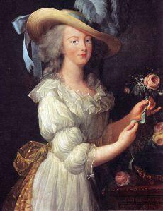 Marie Antoinette lost her head ... maybe Jamie did too.
