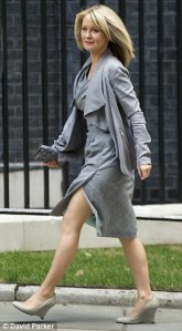 Nice legs ... but better brains than the blokes booted out of the cabinet?