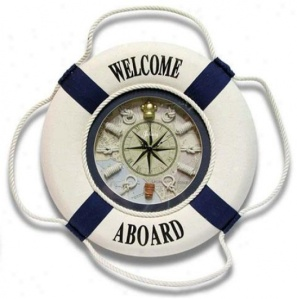 first-mate-wall-clock