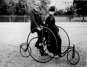 These and all their pedal-powered successors should have been banned when the motor car was invented.