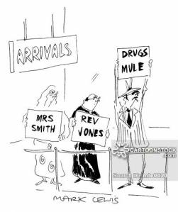 'Arrivals' 'Drugs Mule'