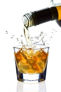 A calorie tax would come from the whisky but not the soda.